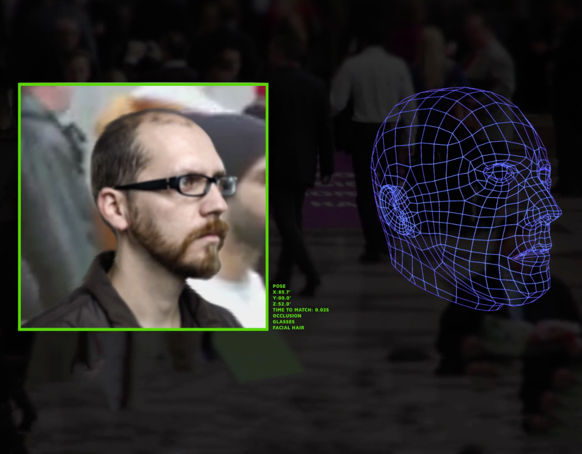CyberExtruder 2D to 3D Facial Recognition technology