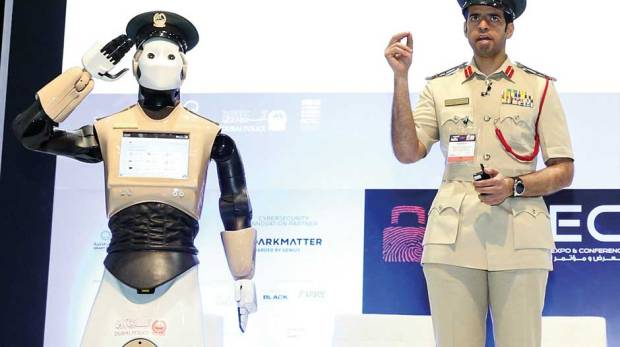 Robocop in Dubai
