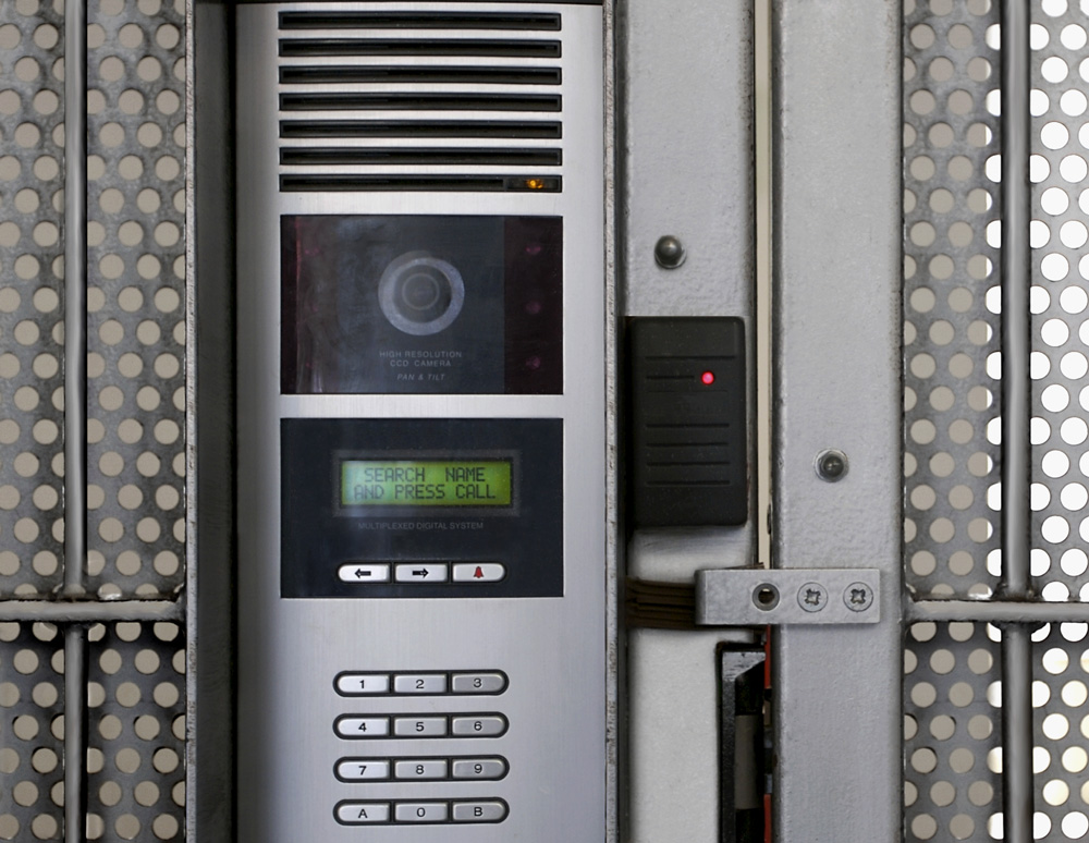 Biometric access control in use